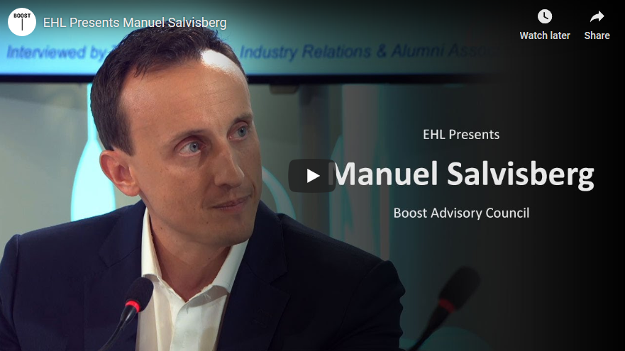 Boost's Manuel Salvisberg on EHL Presents